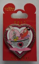 Disney Pin Wdi Valentines Holidays Roger & Jessica Rabbit in Tea Cup 2013 Le 250