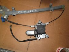 NISSAN ALMERA TINO DRIVER SIDE FRONT WINDOW MOTOR REGULATOR 2001-2007 TESTED