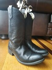 0d96a57080c Double-H Boots Black Cowboy, Western Boots for Men for sale | eBay