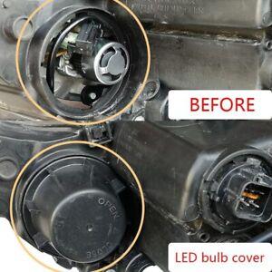 For Kia Ceed Stonic Soul Sportage Sorento Potima Car Headlight Dust Cover Cap