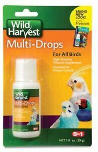 8 in 1 Multi-Drops Vitamin Supplement for All Birds, 1 fl oz