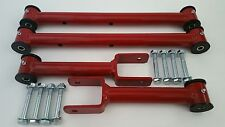 1978-1988 G Body Tubular Upper and Lower Control Arms New Hardware - (RED)