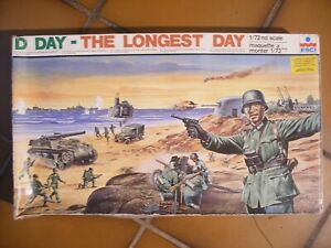Diorama Esci D Day The Longest Day 1/72