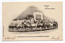 LE CIRQUE et ses thémes BARNUM et BAILEY une performance de 70 chevaux N° 2