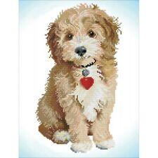 Diamond DOTZ Cavoodle Dog Art Kit Painting Embroidery Xmas Gift 32 X 42cm