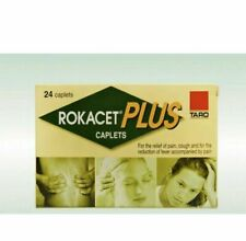 4 X ROKACET PLUS 24 CAPLETS