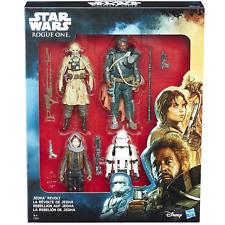 "Hasbro C1231 Disney Star Wars Rogue One JEDHA REVOLT 3.75""  Figure 4 Pack"
