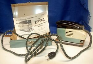 Vintage Syncro Model 504 Sander-Polisher with case and operating instructions