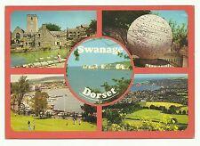 Swanage, Dorset multi view postcard