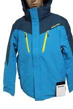 Ziener Herren Ski Jacke Tableo Blau Gelb Schwarz alle Größen Neu mit Etikett