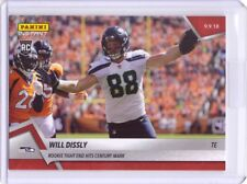 2018 Panini Instant NFL #20 Will Dissly Rookie Card Seahawks - Only 64 made!