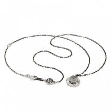 NEW K.UNO x ONE PIECE Monkey D. Luffy Straw Hat Necklace Pendant Silver F/S