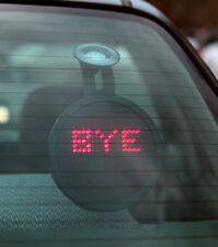 Drivemocion mensajes de control remoto y caras LED Coche Firmar