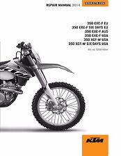 KTM Service Workshop Shop Repair Manual Book 2014 350 EXC-F