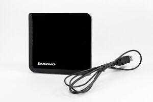 Lenovo PC Slim USB Portable DVD And CD Multi Burner Writer 0A33988 VGC