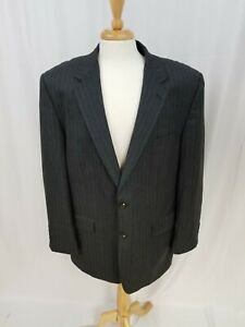 Ralph Lauren Chaps Mens Blazer Gray Sport Coat Dinner Jacket 2 Button Size 42R