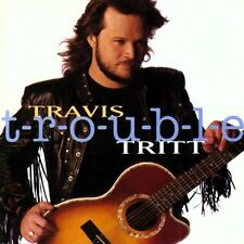 T-r-o-u-b-l-e by Travis Tritt (CD, Aug-1992, Warner Bros.) NEW! ORIGINAL SEALED