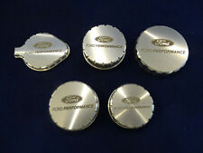 15 16 17 Mustang Ford Performance Billet Aluminum Engine Cap Set Laser Engraved