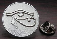 Eye of Horus Ra Lapel Tie Pin Badge Wedjat Egypt Egyptian symbol of protection