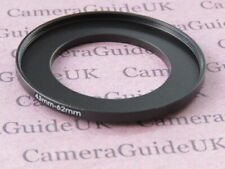 43mm to 62mm 43mm-62mm Stepping Step Up Filter Ring Adapter