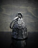 Deluxe Celtic Cross Ride Bell a Guardian to Protect against Motorcycle Gremlin