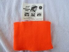 vintage new Allsafe windgard orange winter hard hat liner