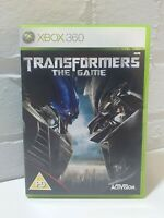TRANSFORMERS THE GAME - XBOX 360 GAME COMPLETE