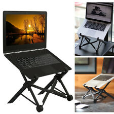 Portable Foldable Laptop Table Stand Adjustable Notebook Desk Holder Tray Travel