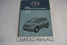 2006 TOYOTA Scion XA Electrical Wiring Diagram Manual OEM