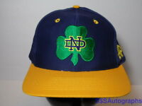 Vtg 1990s NOTRE DAME Fighting Irish NCAA FOOTBALL The Game FITTED HAT CAP 7 1/2