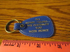 """Westinghouse Credit Corporation WCC Key Ring KeyChain Fob """"The Money Tailors"""""""