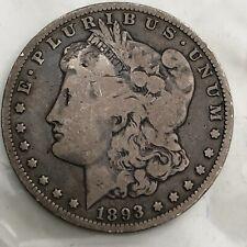 1893 O  MORGAN SILVER DOLLAR  #62e
