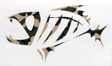 "G. Loomis Skeleton Fish 17"" Boat Decal Set"