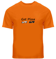 Funny Humorous Unisex Tee T-Shirt Mens Women Gift Print Shirts got pizza
