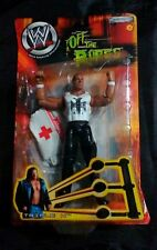 TRIPLE H ACTION FIGURE Off The Ropes 2002 WWF Wrestling Figure WITH MEDIC BAG