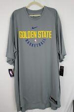 NWT NIKE Golden State Warriors DriFit Mens Practice Shirt 877532 SZ 4XLT Tall