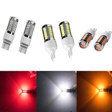 2pcs 3157 Rouge 5630 5730 33LED Auto Véhicule Feux clignotants Lumière Ampoule