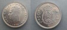 SPAIN KM#809 JUAN CARLOS I 50 PESETAS 1975 *76 SC/SC- UNC/AUNC SIN CIRCULAR