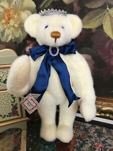 Ashton Drake Lenore Dement ENGLAND'S ROSE Bear 1998  Ltd Ed #190 Princess Diana