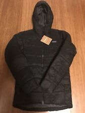 NWT Patagonia Hyper Puff Parka BLACK Jacket Mens Hoody Medium Packable MSRP $350