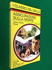 James HADLEY CHASE - ASSICURAZIONE SULLA MORTE , Giallo Mondadori n.134 (1972)