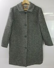 Cos Ladies Wool Blend Winter Coat Overcoat Size 14 UK 40 EUR Women's