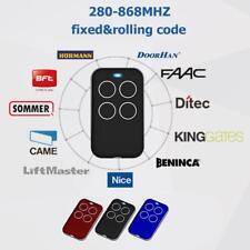 315/418/433/868MHZ Universal Clone Remote Control Key Fob Electric Gate Garage