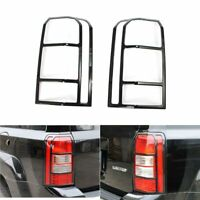 Black Taillight Lamp Frame Protection Cover Decor fit for Jeep Patriot 2011-2017