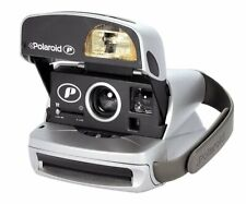 Polaroid 600 classic FILM INCLUSIVE *GOOD BLACK SILVER ideal STARTER PACK 1
