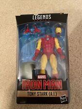 Marvel Legends Iron Man Tony Stark Ai Action Figure Mr Hyde BAF - IN HAND