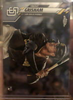 2020 TOPPS CHROME TRENT GRISHAM ROOKIE CARD RC | #101 | PADRES |