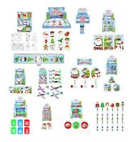 30 - 100 Mixed Christmas Party Bag Fillers Stocking Fillers Lucky Dip Toy Prizes