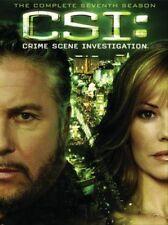CSI CRIME SCENE INVESTIGATION Complete Seventh 7th SEASON 7 Series DVD Set Seven