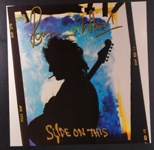 Ronnie Wood Poster Promo Flat 12x12 Rare Vhtf Original 1992 Slide On This Stones